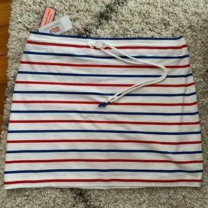 Vineyard Vines Striped Drawstring Skirt